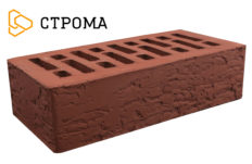 Кирпич лицевой бордо, Кора дуба 1,4НФ (Строма)