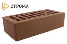 Кирпич лицевой коричневый, гладкий 1НФ (Строма)