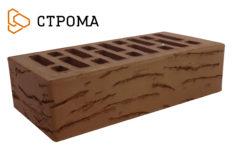 Кирпич лицевой коричневый, Мадейра 1НФ (Строма)