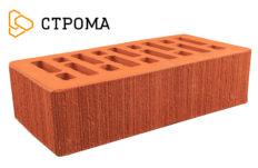 Кирпич лицевой красный, Бархат 1НФ (Строма)