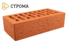Кирпич лицевой красный, Кора дуба 1НФ (Строма)