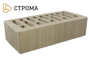 Кирпич лицевой Латте, Бархат 1НФ (Строма)