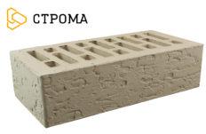 Кирпич лицевой серебро, Кора дуба 1НФ (Строма)