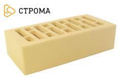 Кирпич лицевой солома, гладкий 1,4НФ (Строма)