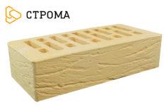 Кирпич лицевой солома, Рустик 1НФ (Строма)