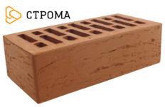 Кирпич лицевой терракотовый, Рустик 1,4НФ (Строма)