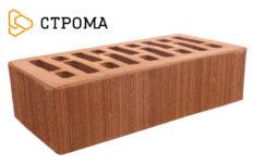 Кирпич лицевой терракотовый, Бархат 1,4НФ (Строма)