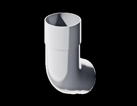 ПВХ колено трубы 135º, белый