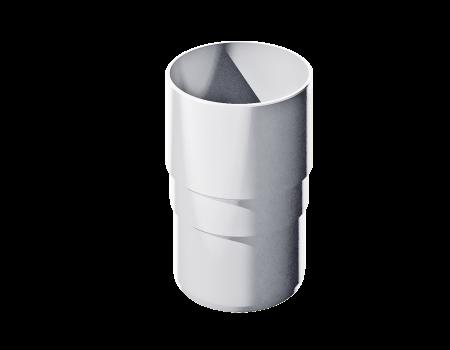 ПВХ муфта трубы, белый