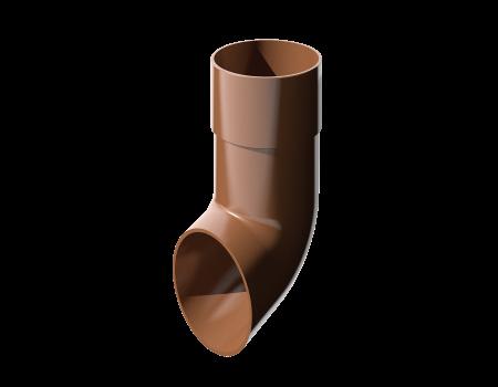 ПВХ слив трубы, коричневый