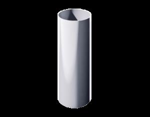ПВХ водосточная труба, белый (3 м)