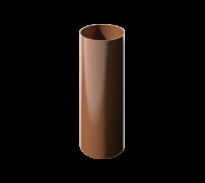 ПВХ водосточная труба, коричневый (1,5 м)