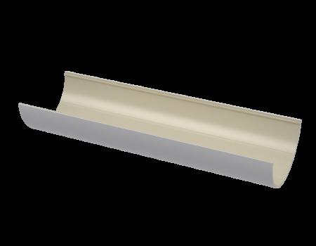 ПВХ желоб, белый (3 м)