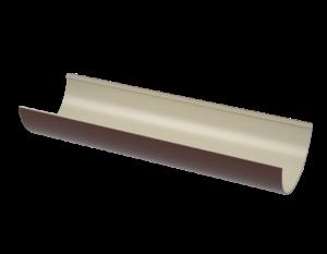 ПВХ желоб, коричневый (1,5 м)