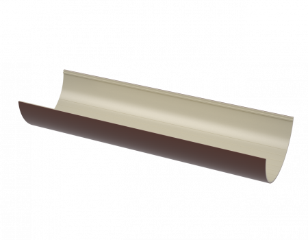 ПВХ желоб, коричневый (3 м)