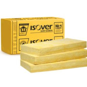 Утеплитель ISOVER Фасад Лайт 100 мм, 2,16 м² (0,216 м³)