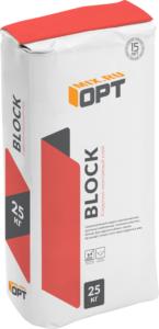 Кладочно -монтажный клей OPT BLOCK